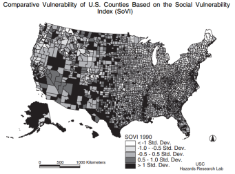 Cutter et al. Social Vulnerability to Environmental Hazards. Social Sciences Quarterly 2003. 84 (2): 242-61