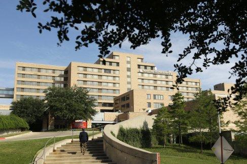 Texas Health  Presbyterian Hospital. Image courtesy of NPR